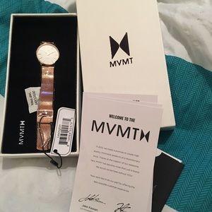 MVMT Lexington Rose Gold watch